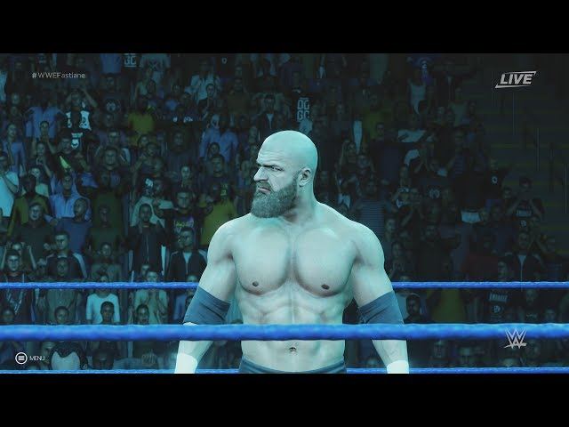 WWE 2K19 - Super Show-Down: Triple H vs Undertaker Gameplay [1080p 60FPS HD]