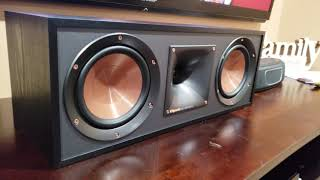 Klipsch R-52C Center Speaker Unboxing!