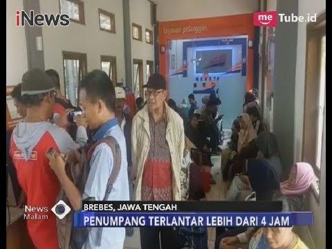 Jalur Kereta Tegal-Jakarta Terendam Banjir, Penumpang Terlantar Lebih dari 4 Jam - iNews Malam 12/02