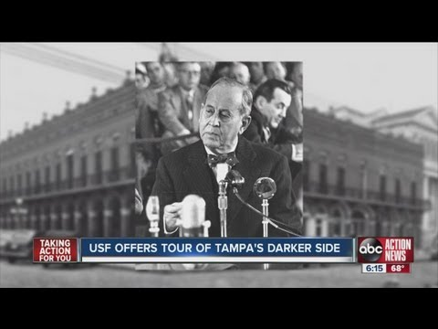 Tampa's seedier side of history detailed in walking tour