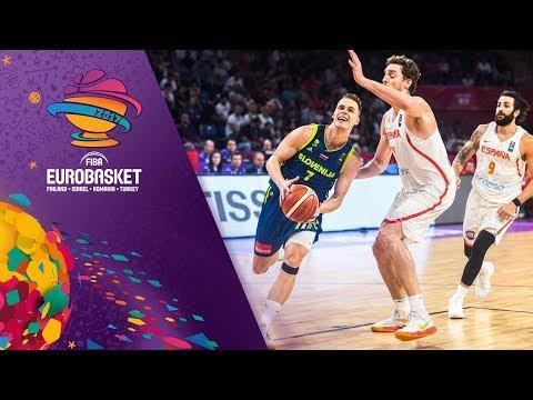 Spain v Slovenia - Full Game - Semi-Final - FIBA EuroBasket 2017