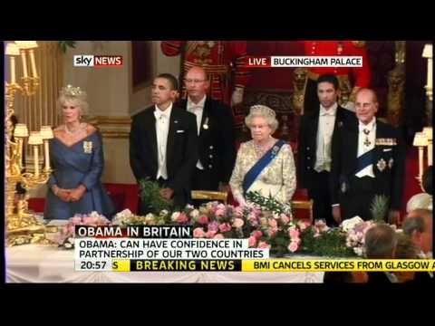 Obama Insults British National Anthem.