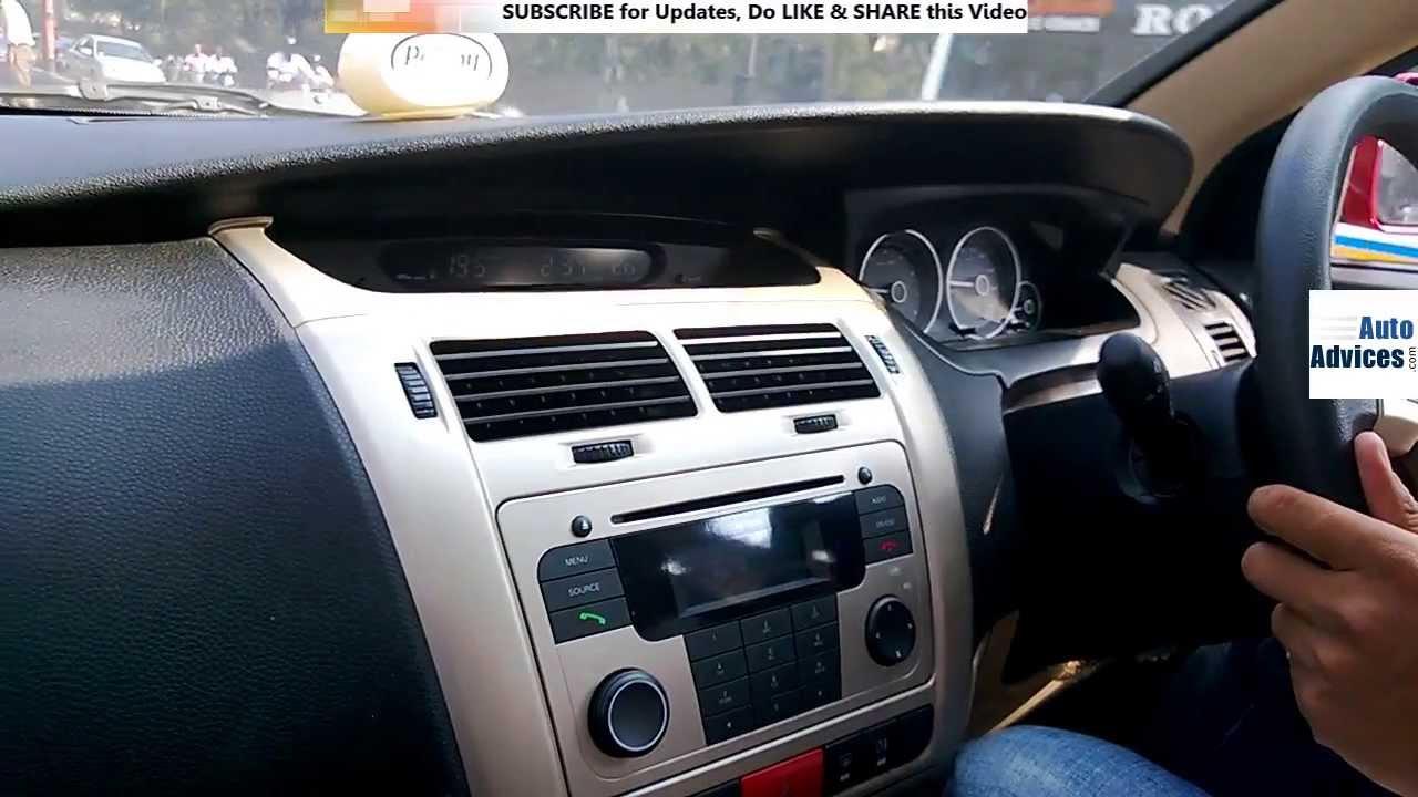 tata vista d90 dashboard interior features demo youtube