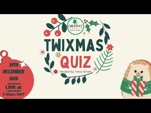 Chestnut Products Charity 'Twixmas Quiz