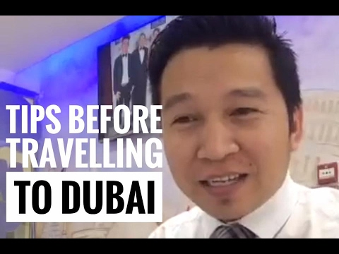 TIPS BEFORE TRAVELLING TO DUBAI (via FB Live)