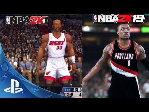 EVOLUTION OF 2K GRAPHICS ! NEW NBA 2K - NBA 2K19 [ 4K Gameplay Graphics ]