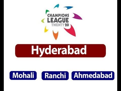 CLT20 matches shifted from Hyderabad