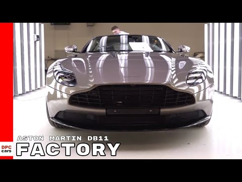 2018 Aston Martin DB11 Factory
