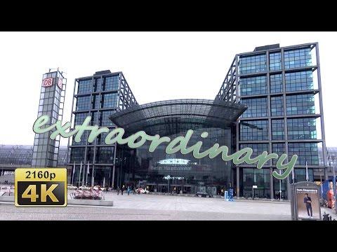 Berlin Central Station, Berlin - Germany 4K Travel Channel