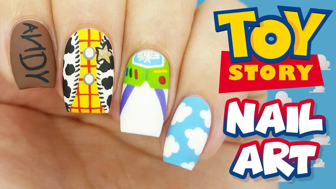 Toy Story Nail Art Tutorial - YouTube