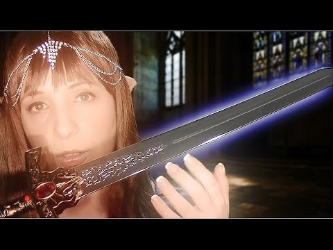 ASMR It's Dangerous To Go Alone! Here Take This: A Binaural Role Play for Relaxation