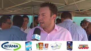 Antônio Carlos do INPEV destacou a importância do posto de coleta das embalagens dos agrotóxicos