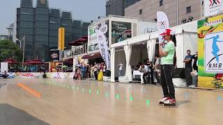 2014 BMB  北京 燕莎大师赛 Women Slalom 女子花桩  赵依然 Zhao Yi Ran 3rd