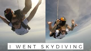 I WENT SKYDIVING FOR THE FIRST TIME | Skydive Georgia