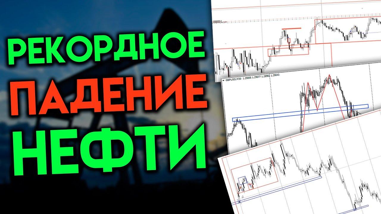 Торговые сигналы на вторник: как рекордное падение нефти влияет на рынок?