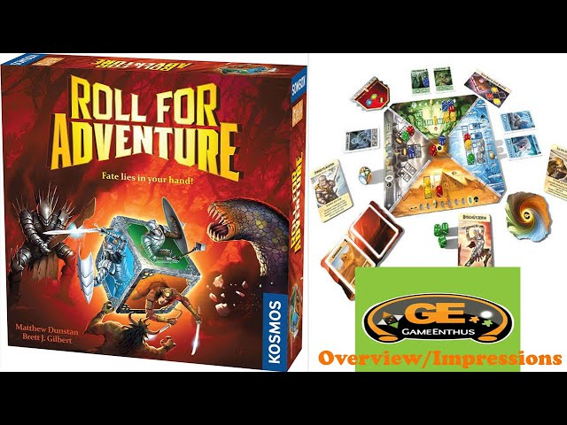 Roll For Adventure - Overview/Impressions