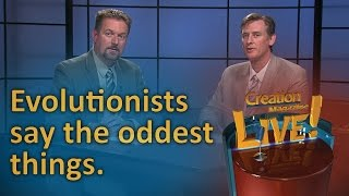 Evolutionists say the oddest things (Creation Magazine LIVE! 6-17) by CMIcreationstation