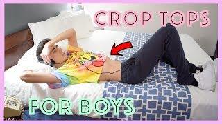 WEARING CROP TOPS FOR MEN