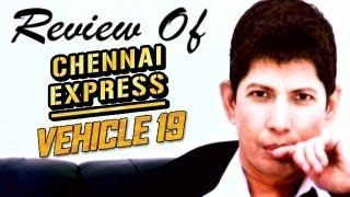 The zoOm Review Show - Chennai Express & Vehicle 19 - Online Movie Review
