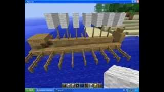 Minecraft Builds: Ancient Greek Trireme