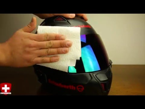 How to protect your helmet visor from rain│Give-Away│SWISSBIKER