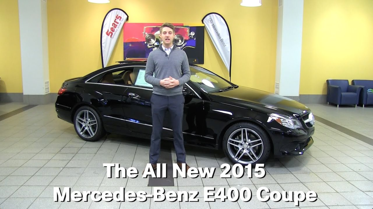 Review the new 2015 mercedes benz e400 e class coupe for Mercedes benz bloomington mn