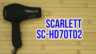 фен Scarlett SC-HS60593 обзор