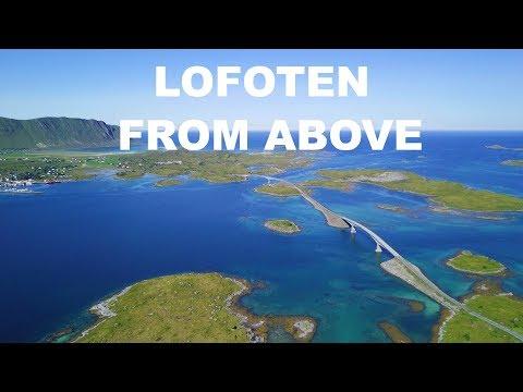 LOFOTEN 2017 Bodø, Saltstraumen, Kvalvika Beach, Ramberg, Moskenes 4K Drone footage w DJI MAVIC PRO