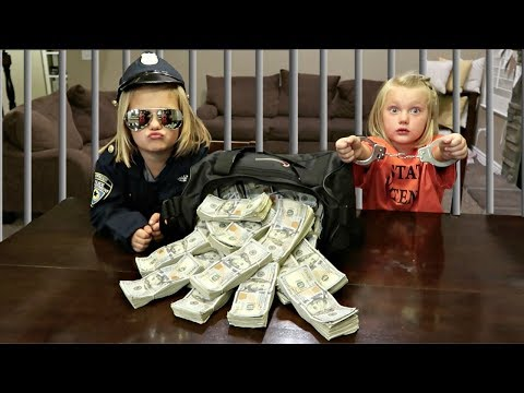 SHE STOLE A MILLION DOLLARS!! | COPS AND ROBBERS!