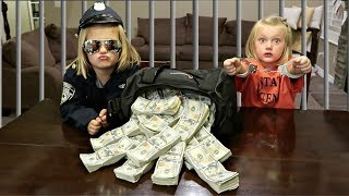SHE FOUND A MILLION DOLLARS!! | COPS AND ROBBERS!