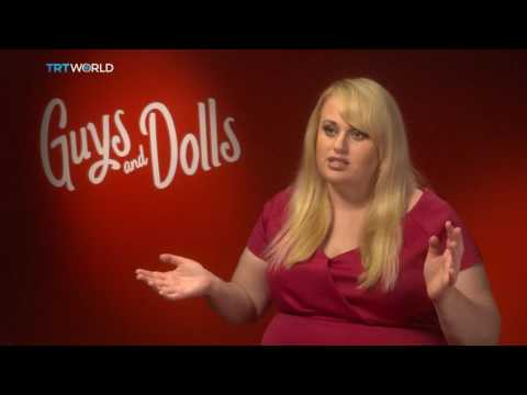 Rebel Wilson in the musical Guys and Dolls   On Stage   Showcase