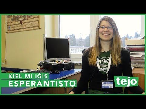 Kiel mi iĝis Esperantisto (How I became an Esperanto speaker) - Charlotte Scherping Larsson