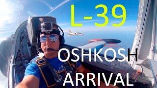 L-39 Cockpit Arrival to Airventure 2015 l ATC Audio