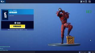 Fortnite Season 8 skin EPIC Emote Shake it Up Feel the Rhythm - Dance by Hybrid become the dragon