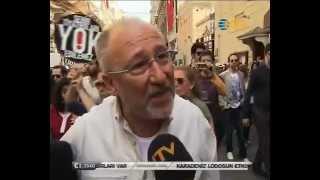 Tiyatrocular Eylemde, Altan Erkekli: Belediye Asfalta Baksın, AKP Tiyatro Memuruna Tepki
