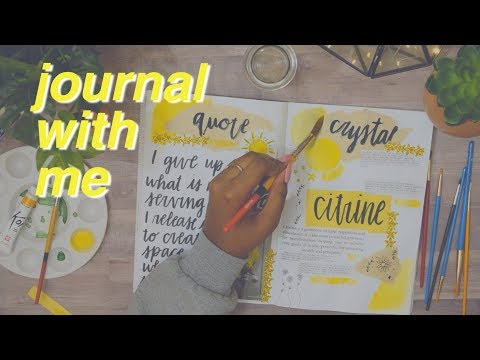 JOURNAL WITH ME: January 2018 Bullet Journal