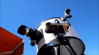 Observing Jupiter in daytime with a dobsonian telescope