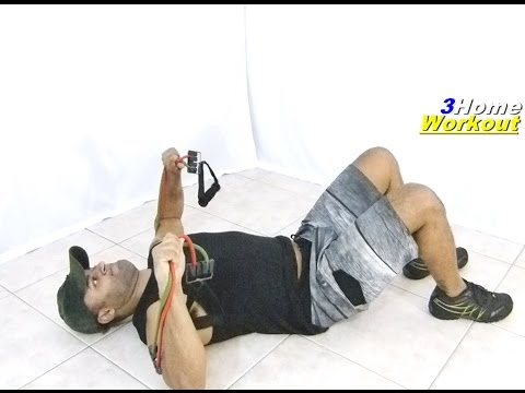 CHEST RESISTANCE BAND Exercise || Constant Tension