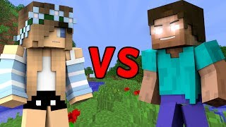 GIRL vs. HEROBRINE 2 - Minecraft