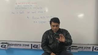 How to Handle Last Week Stress of GATE Exam by Qaisar Hafiz (Ex-I.E.S) - PART II