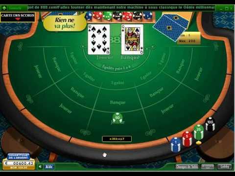 888.com présenté : les jeux de tables - le Baccarat