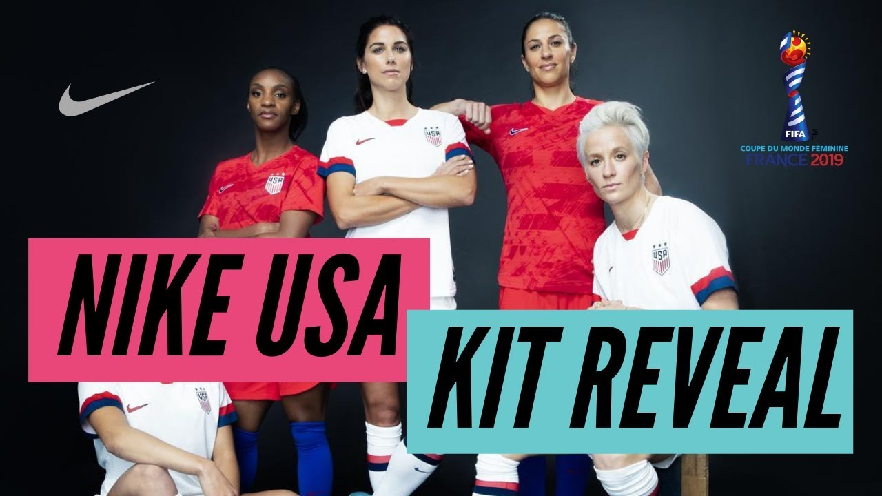 detailing bdc96 68660 Nike Drops NEW USWNT Kits! Feat. Carli Lloyd, Alex Morgan, Mal Pugh and More