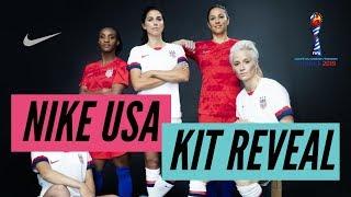 Nike Drops NEW USWNT Kits! Feat. Carli Lloyd, Alex Morgan, Mal Pugh and More