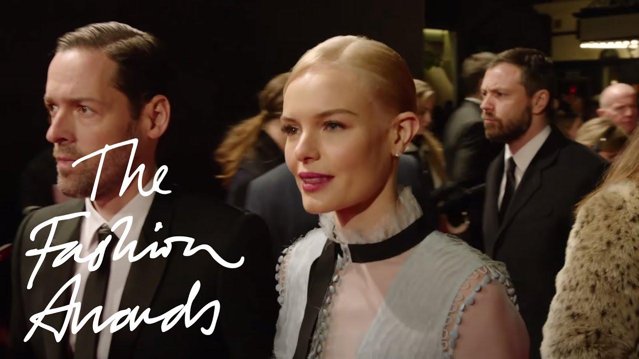 British Fashion Awards 2015 Red Carpet Highlights Youtube