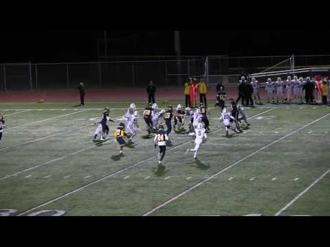 #20 Eric Jung - 2016 BHS Football Game 7