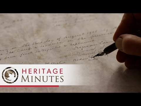 Heritage Minutes: Naskumituwin (Treaty)