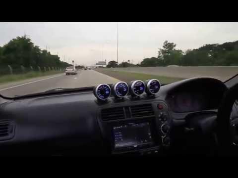 K24 Civic 300+hp NA, street pulls !