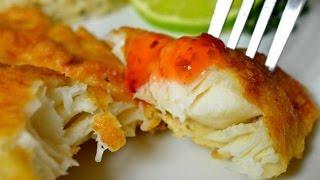 как приготовить тилапию в кляре на сковороде , Рыба рецепт от МЫСЛЯ ГЕЙМИТСЯ