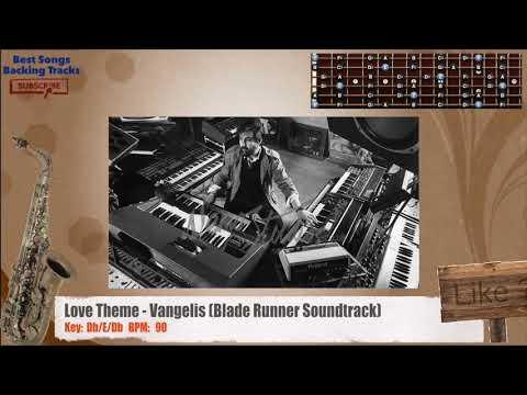 Love Theme - Vangelis (Blade Runner Soundtrack) SAX / Guitar Backing Track