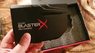 creative Sound BlasterX AE-5 обзор звуковой карты